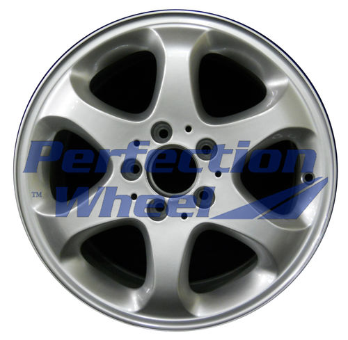 WAO.65259 16x7.5 Bright Fine Metallic Silver Full Face