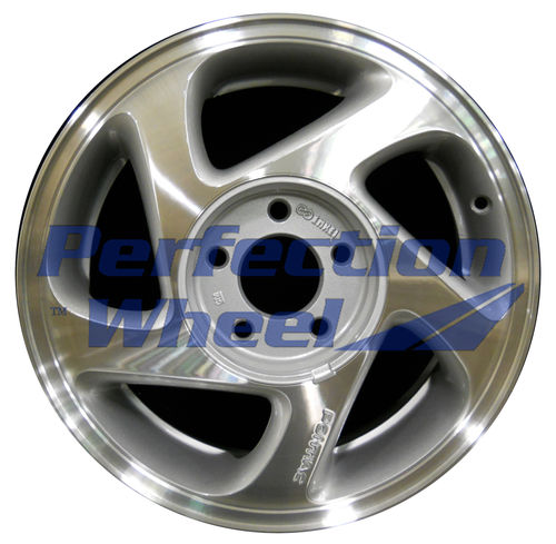 WAO.6526 16x6.5 Sparkle Silver Machined