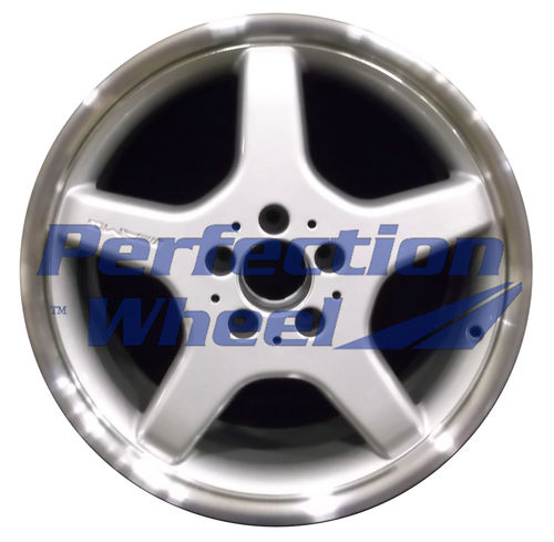 WAO.65279FT 18x8.5 Bright fine metallic silver Flange Cut