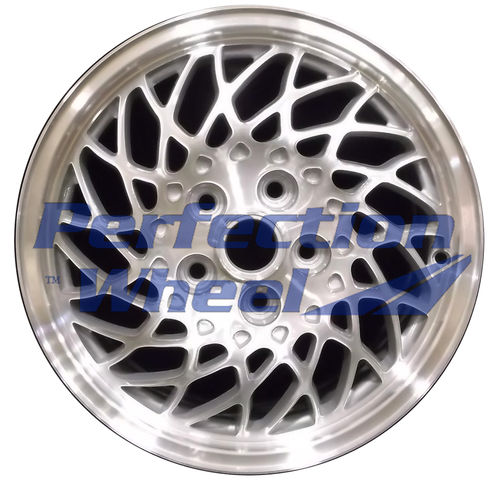 WAO.6527A 16x6.5 Medium Sparkle Silver Machined