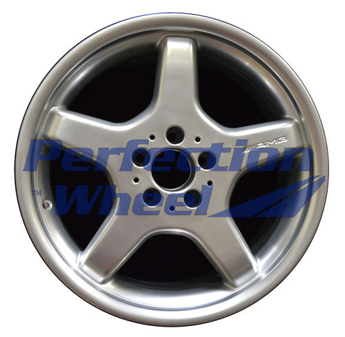 WAO.65280RE 18x9.5 Hyper Bright Mirror Silver Full Face