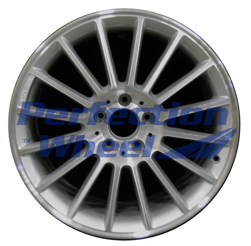 WAO.65282FT 18x8.5 Metallic Silver Machined