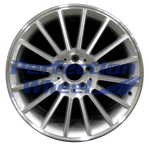 WAO.65283RE 18x9.5 Metallic Silver Machined