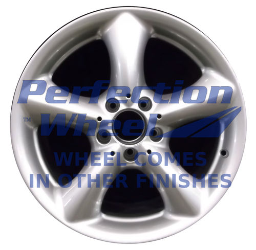 WAO.65289ARE 17x8.5 Bright Fine Metallic Silver Full Face