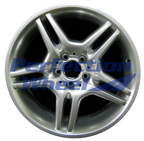 WAO.65317RE 18x9 Hyper Bright Mirror Silver Full Face