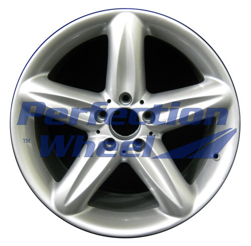 WAO.65322FT 18x8.5 Bright Fine Metallic Silver Full Face