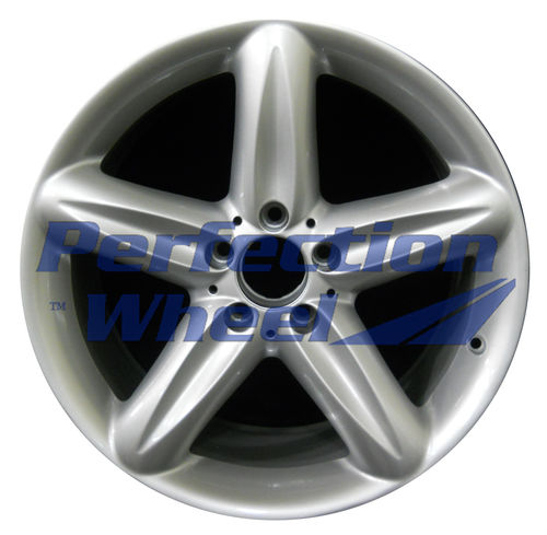 WAO.65323RE 18x9.5 Bright Fine Metallic Silver Full Face