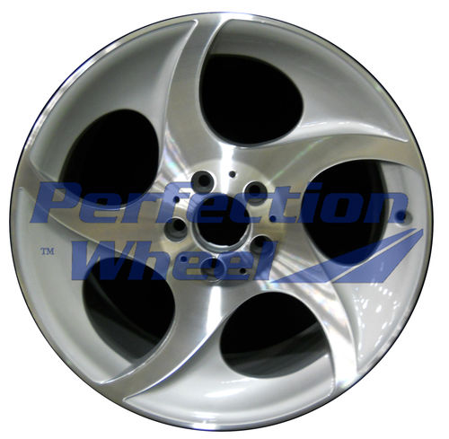 WAO.65324FT 18x8.5 Bright fine metallic silver Machined