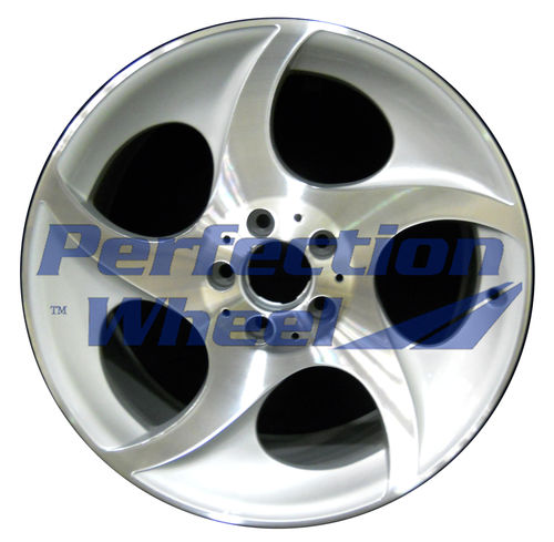WAO.65325RE 18x9.5 Bright fine metallic silver Machined