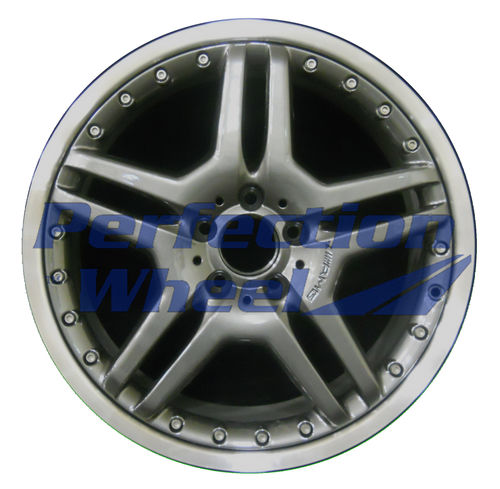 WAO.65349RE 19x9.5 Dark Metallic Charcoal Flange Cut