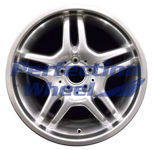 WAO.65384RE 18x8.5 Hyper Bright Mirror Silver Full Face