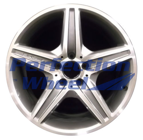 WAO.65434FT 18x8.5 Bright Metallic Charcoal Machined