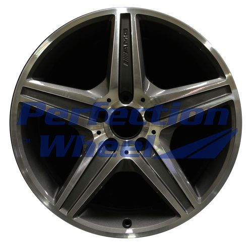WAO.65443FT 18x8 Metallic Charcoal Machined Bright
