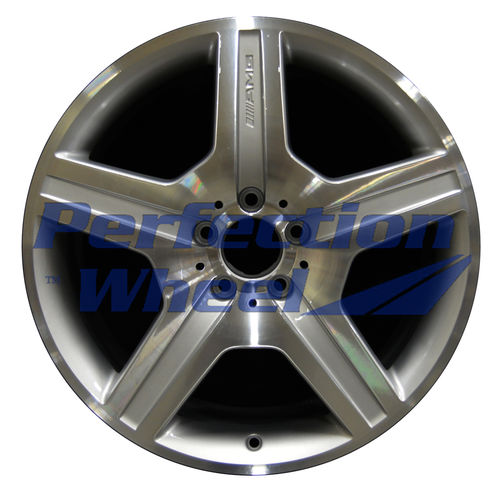 WAO.65472 19x8.5 Bright Medium Silver Machined