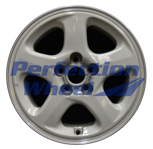 WAO.65700LT 17x8.5 Bright fine silver Machine Before Painting