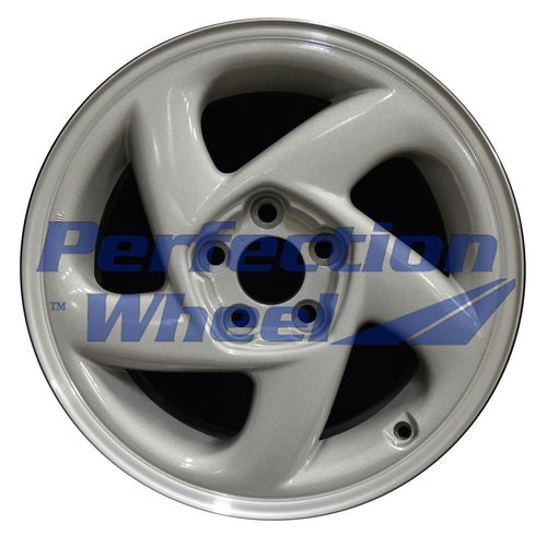 WAO.65731LT 17x8.5 Bright medium silver Machine Before Painting