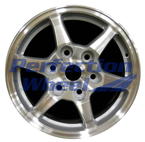 WAO.65775 16x7 Fine metallic silver Machined