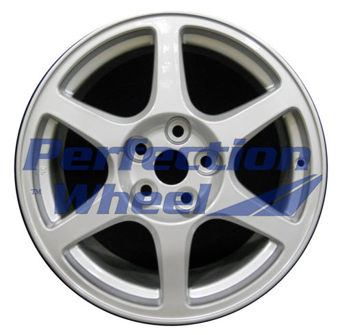 WAO.65781 17x8 Blueish Sparkle Silver Full Face