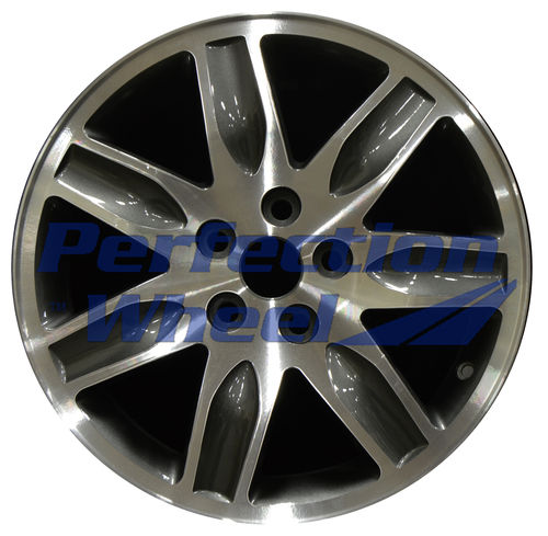 WAO.65792 17x7 Dark Metallic Charcoal Machined