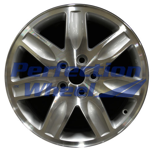 WAO.65792 17x7 Medium Sparkle Silver Machined