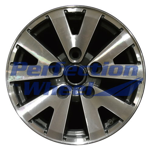 WAO.65815 16x8 Dark Blueish Charcoal Machined