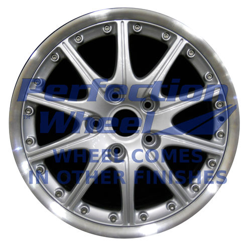 WAO.67246FT 18x7.5 Bright fine metallic silver Flange Cut