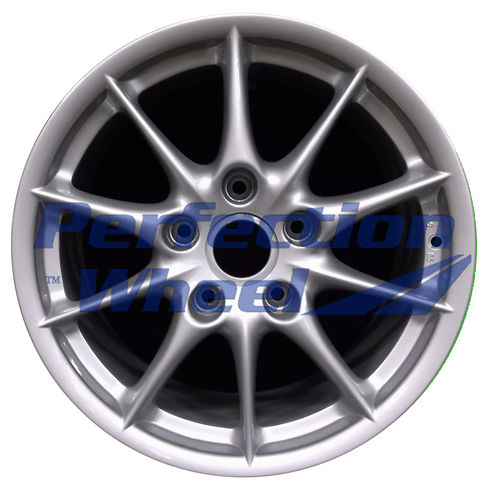 WAO.67274RE 17x9 Bright Fine silver Full Face