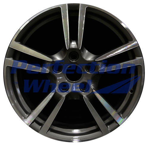 WAO.67397FT 19x8 Dark Brown Metallic Charcoal Machined Bright