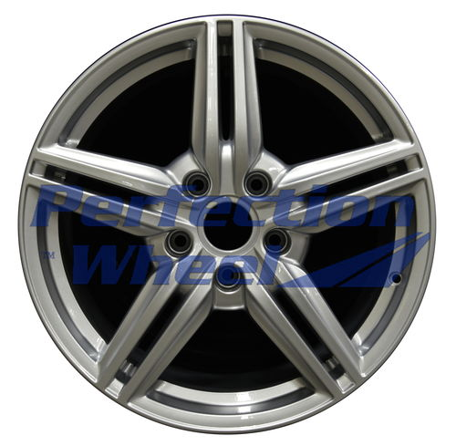 WAO.67403 19x8.5 Hyper Bright Silver Full Face