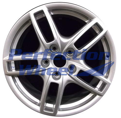 WAO.67404 19x8.5 Hyper Bright Silver Full Face