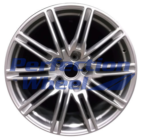 WAO.67408 21x10 Blueish Sparkle Silver Full Face