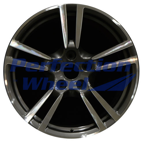 WAO.67413FT 19x8.5 Dark Brown Metallic Charcoal Machined Bright