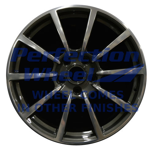 WAO.67425 20x8.5 Medium Charcoal Machined Bright