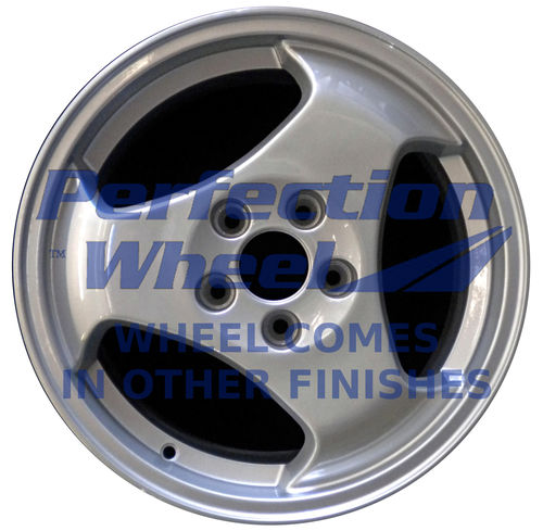 WAO.68192 16x6.5 Bright Sparkle Silver Full Face