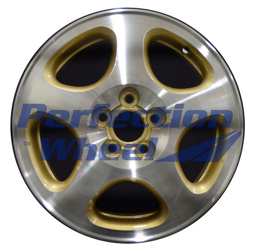 WAO.68689 15x6 Gold Machined