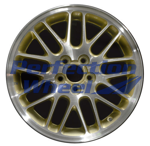 WAO.68697A 16x6.5 Sparkle Gold Machined