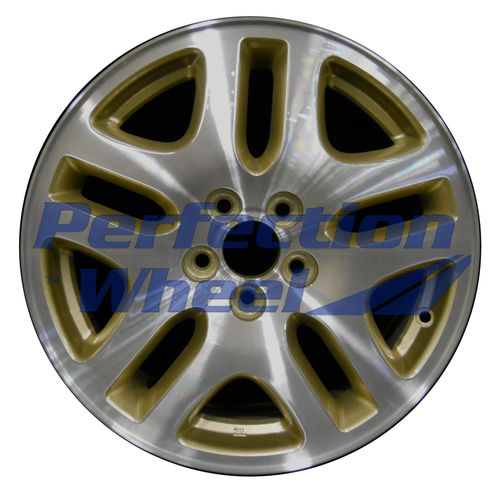 WAO.68710A 16x6.5 Sparkle Gold Machined