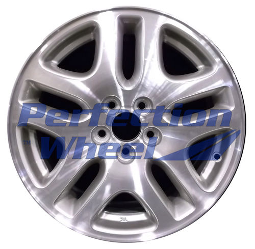 WAO.68710A 16x6.5 Ford Satin Nickle Machined