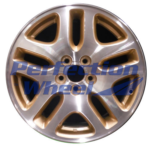 WAO.68710B 16x6.5 Sparkle Gold Machined