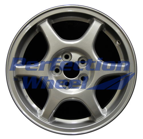WAO.68712 16x7 Fine metallic silver Full Face
