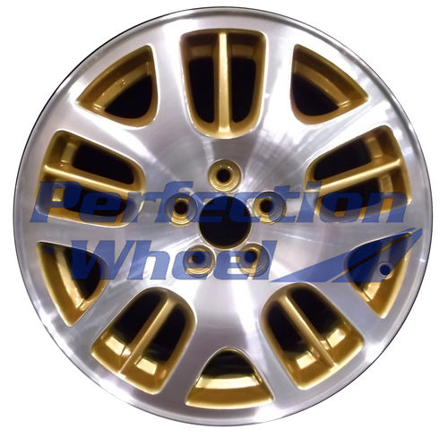 WAO.68717 16x6.5 Sparkle Gold Machined