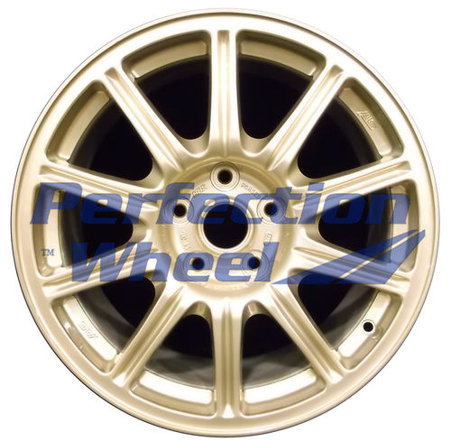WAO.68742 17x8 Sparkle Gold Full Face