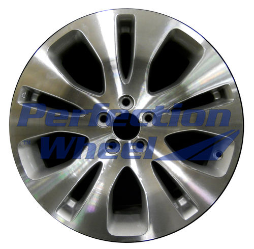 WAO.68760 17x7 Sparkle Silver Machined