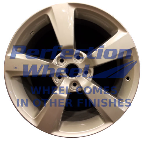 WAO.68777 18x8.5 Hyper Bright Smoked Silver Full Face