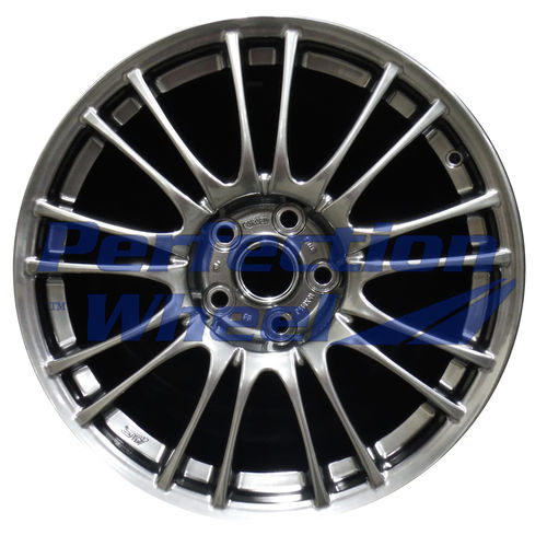 WAO.68778 18x8.5 Hyper Dark Smoked Silver Full Face Bright
