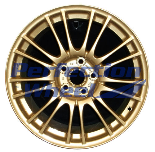 WAO.68778 18x8.5 Fine Sparkle Gold Full Face