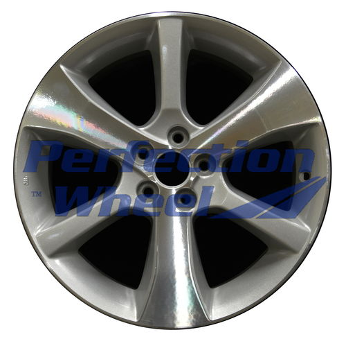 WAO.68807 17x7 Sparkle silver Machined