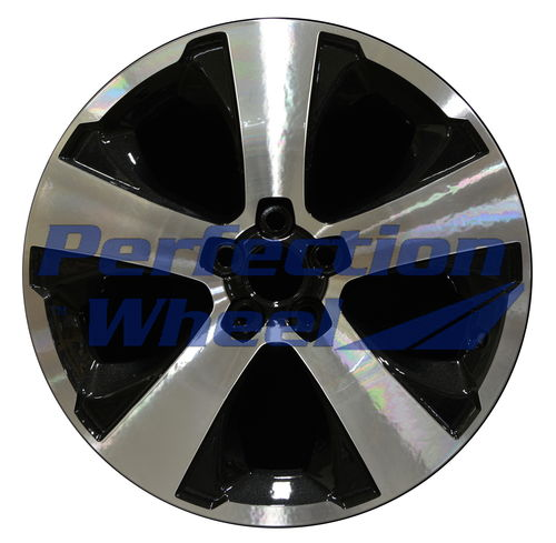WAO.68816 17x7 Tuxedo Black Machined