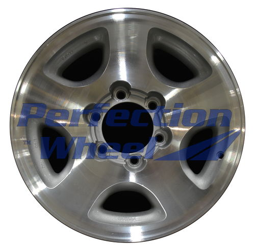 WAO.69314A 16x8 Medium Sparkle Silver Machine Texture