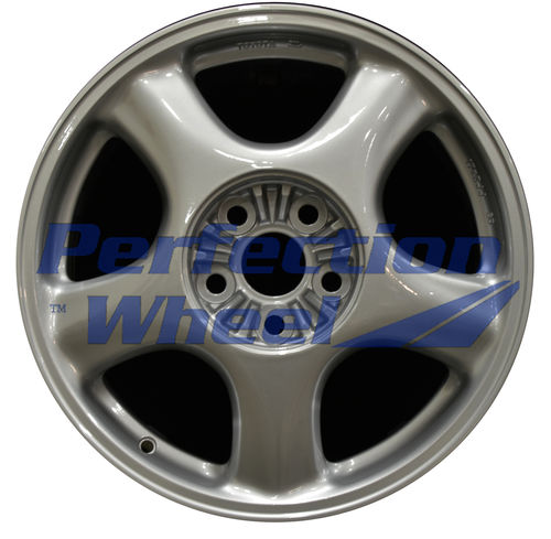 WAO.69336FT 17x8 Bright Fine Metallic Silver Full Face